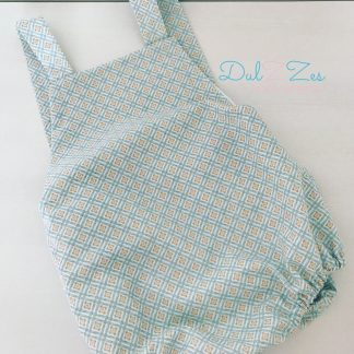 Dulzzes ranita rombos ropa infantil hecho a mano
