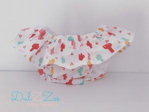 Dulzzes Culote volante cactus ropa infantil hecho a mano